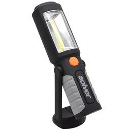 Lanterna LED COB SLP-301 2W com Luz Frontal à Pilha