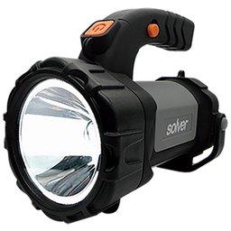 Lanterna Holofote Pro Led Cree SLP-401 Recarregável