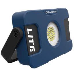 Lanterna Flood Lite S 40 Leds SMD com Bateria Recarregável