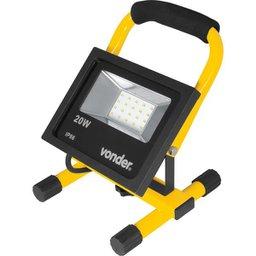 Lanterna Refletora com Suporte 20 W