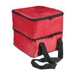 Marmita Térmica com Bandeja Vermelha