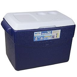 Caixa Térmica Glacial 26 Litros Azul