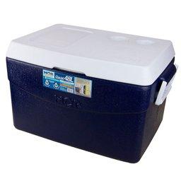 Caixa Térmica Glacial 48 Litros Azul
