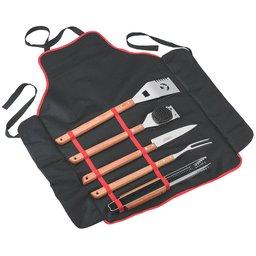 Kit para Churrasco de Inox com 6 Peças