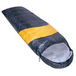 Saco de Dormir Viper 5°C a 12°C estilo Sarcófago Preto e Laranja