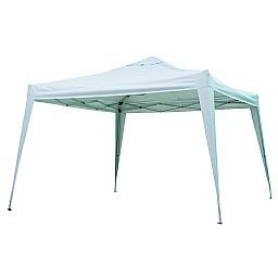 Gazebo X-Flex Oxford  3 x 3 m com Silvercoating Branco