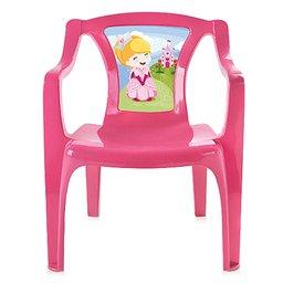 Poltrona Infantil Rosa com Label