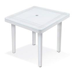 Mesa Quadrada Desmontável Branca