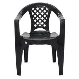Cadeira Iguape Preta com Braços