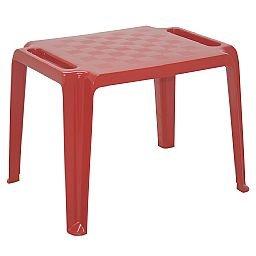 Mesa Infantil Dona Chica Vermelha