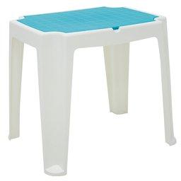 Mesa Infantil Versa Branca e Azul
