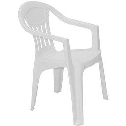 Cadeira com Braços Ilhabela Basic Branca