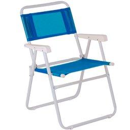 Cadeira Aço Master Azul