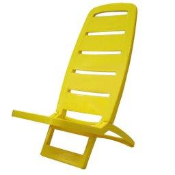 Cadeira Dobrável Guarujá Amarela