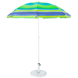 Guarda Sol Caribe Verde e Azul 180cm