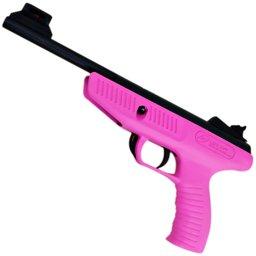 Pistola de Pressão 4,5mm Rosa Life Style