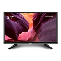 Tela 24 Pol. HD Entrada USB VGA + Gravador e Conversor TV Digital TL010
