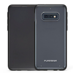 Capa Galaxy S10 Slim Shell Puregear Preto/transp