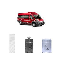 Kit filtros, ar condicionado, combustível e óleo lubrificante Redux32 - DUCATO 2.5 D 8V Diesel 2007