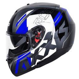 Capacete Axxis Roc Sv Blow Azul 58 Azul