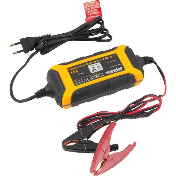 Carregador inteligente de bateria  CIB 030 VONDER - Imagem zoom