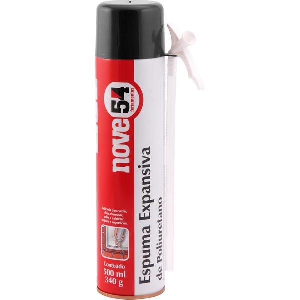 Espuma expansiva de poliuretano 500 ml340 g NOVE54