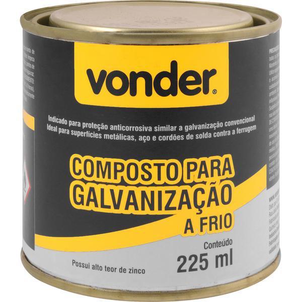 Composto para galvanização a frio 225 ml VONDER - Imagem zoom