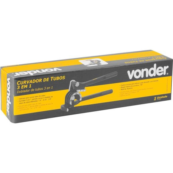 Curvador de tubos 3 em 1 VONDER - Imagem zoom