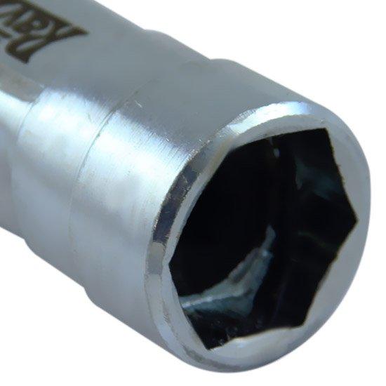 Chave de Vela Universal Sextavada de 21 mm com Regulagem Especial para Motores a Álcool - Imagem zoom