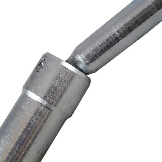 Chave de Vela com Soquete Móvel Sextavado de 16 mm - Imagem zoom