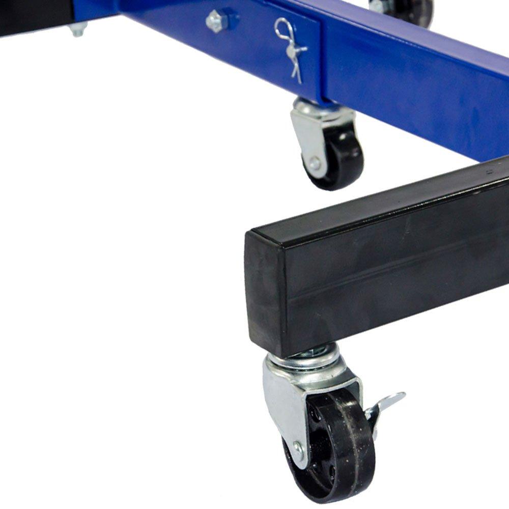 Suporte Universal Azul para Motor até 680kg - Imagem zoom