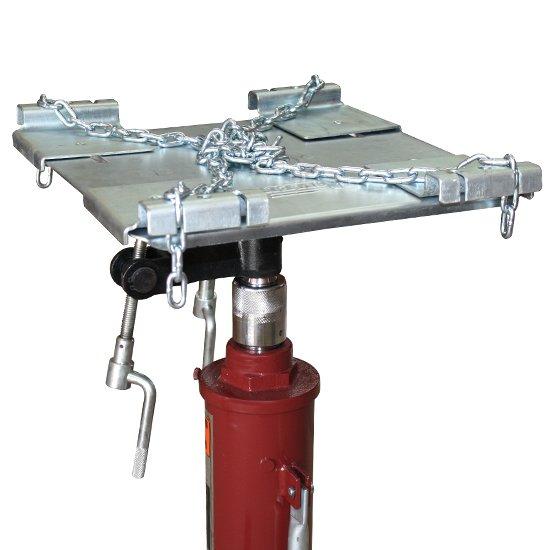 Macaco hidráulico telescópico p/ caixa de câmbio de automóveis e utilitários - Imagem zoom