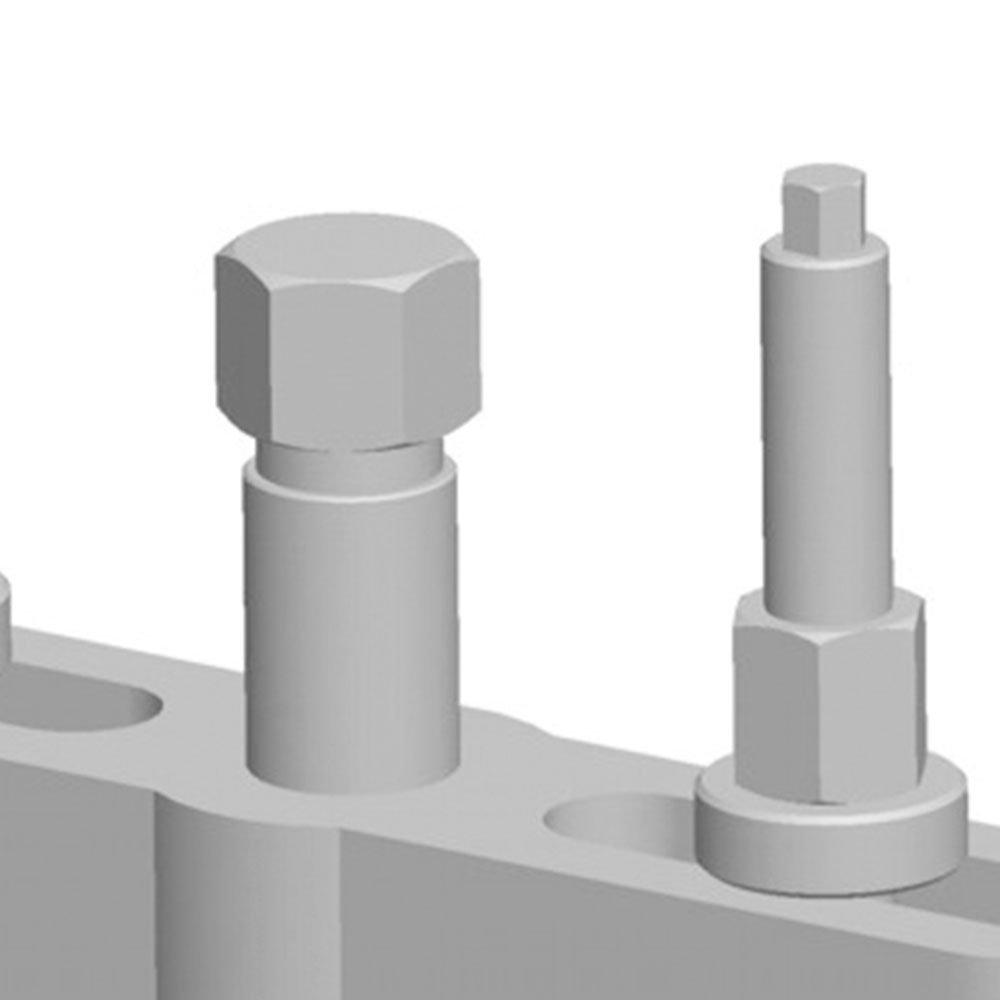 Extrator de Rolamento da Coroa de Diferencial - Imagem zoom
