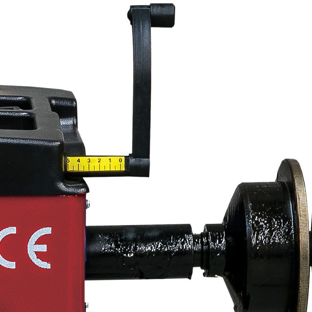 Balanceadora Manual de Bancada Monofásica Vermelho para Aro 10 a 24 Pol.  - Imagem zoom