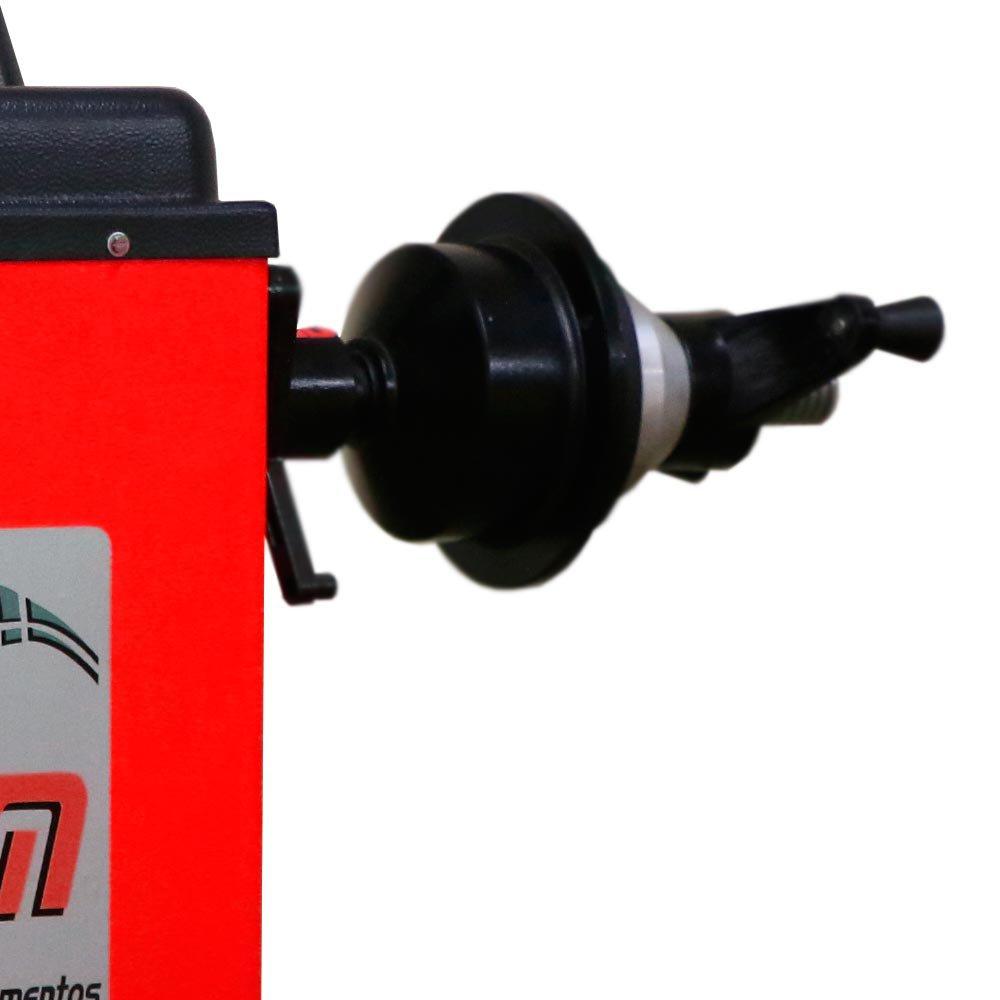 Balanceadora de Rodas Coluna Vermelha 110/220V - Imagem zoom