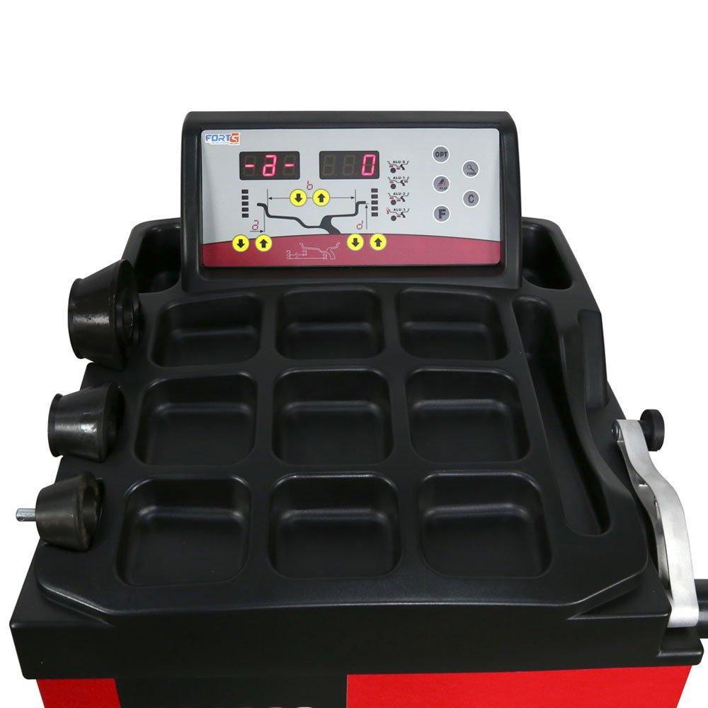 Balanceadora de Rodas Mono 220V Computadorizada Manual - Imagem zoom