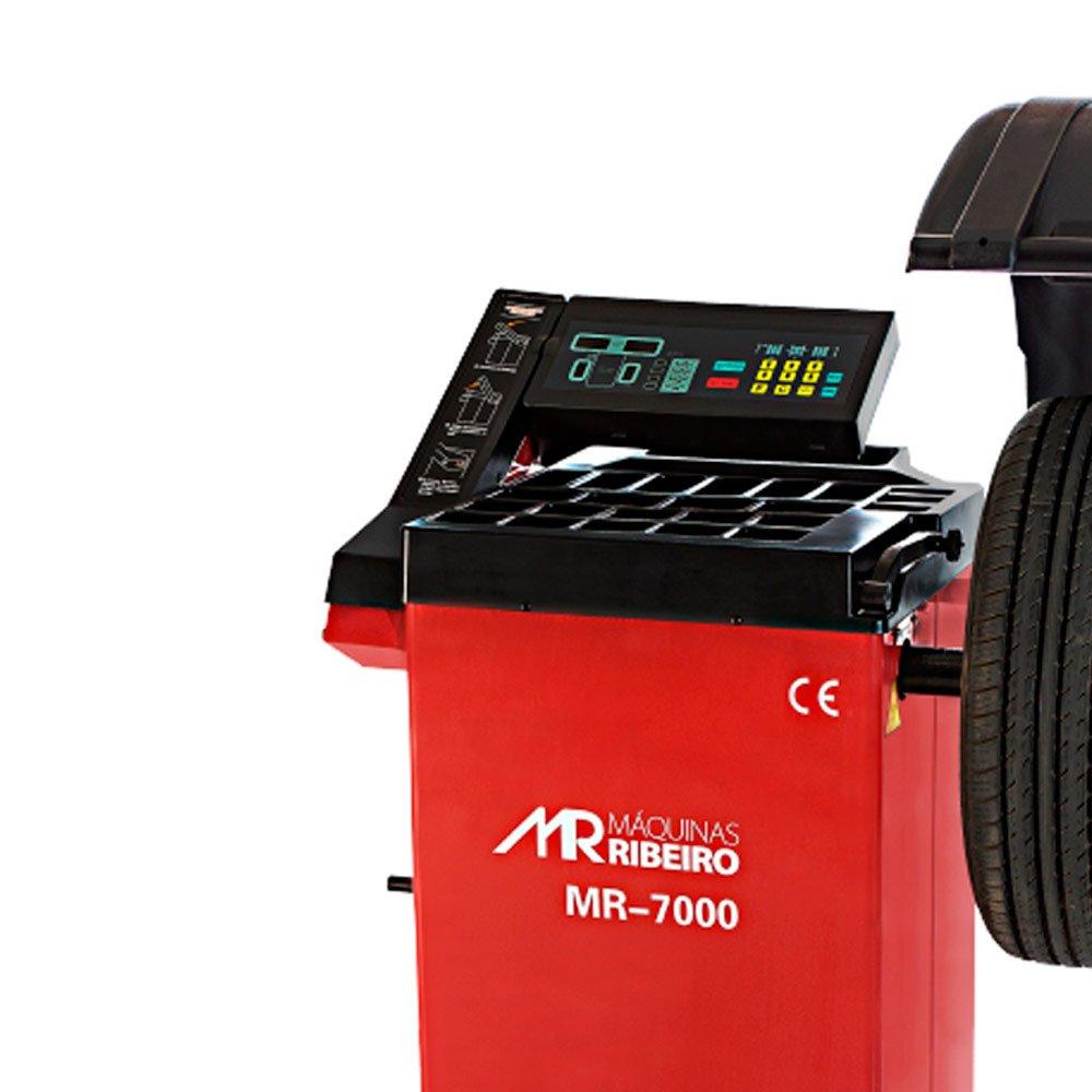 Balanceadora de Rodas Motorizada Vermelho  Monofásica - Imagem zoom