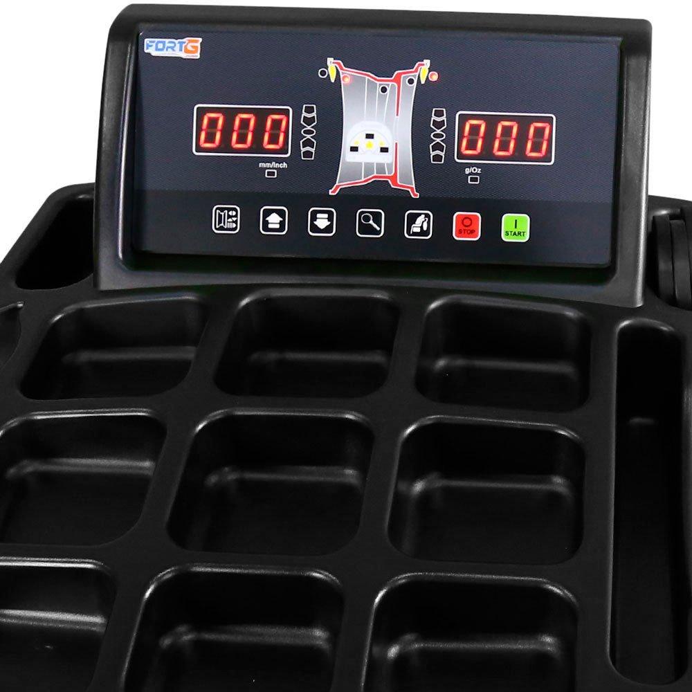 Balanceadora de Rodas Automática 220V Mono - Imagem zoom
