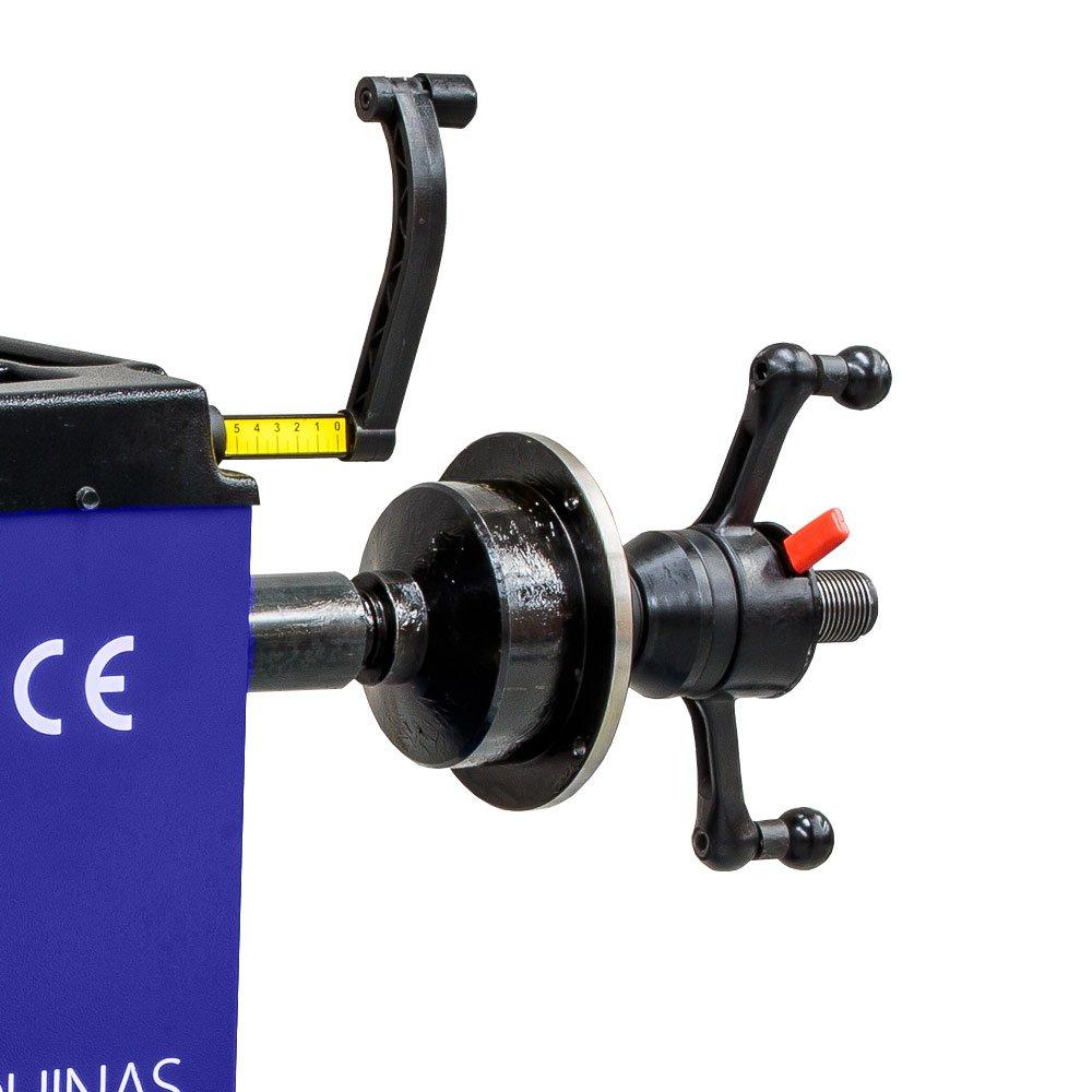 Balanceadora Manual de Rodas 10 a 24 Pol. Azul - Imagem zoom