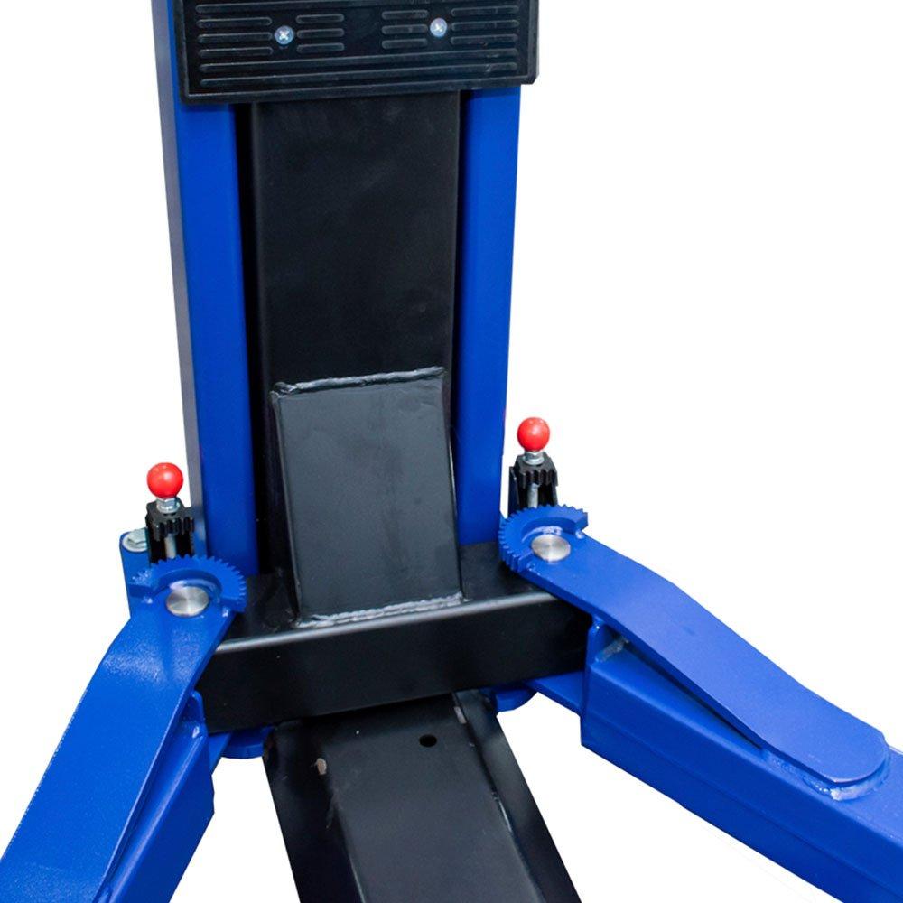 Elevador Automotivo Hidráulico Double Lock Azul Mono 4000kg  - Imagem zoom