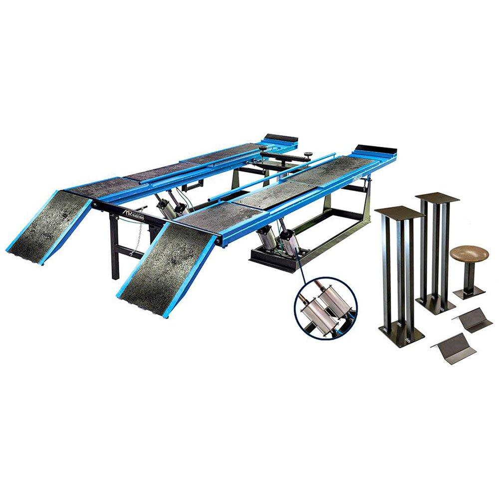 Rampa de Alinhamento Pneumática Azul 5 Toneladas - Imagem zoom