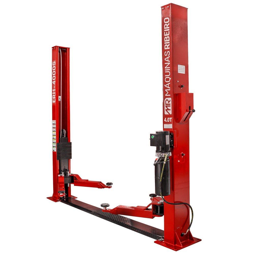 Elevador Hidráulico 4T Single Lock 2,2KW Monofásico 220V Vermelho - Imagem zoom