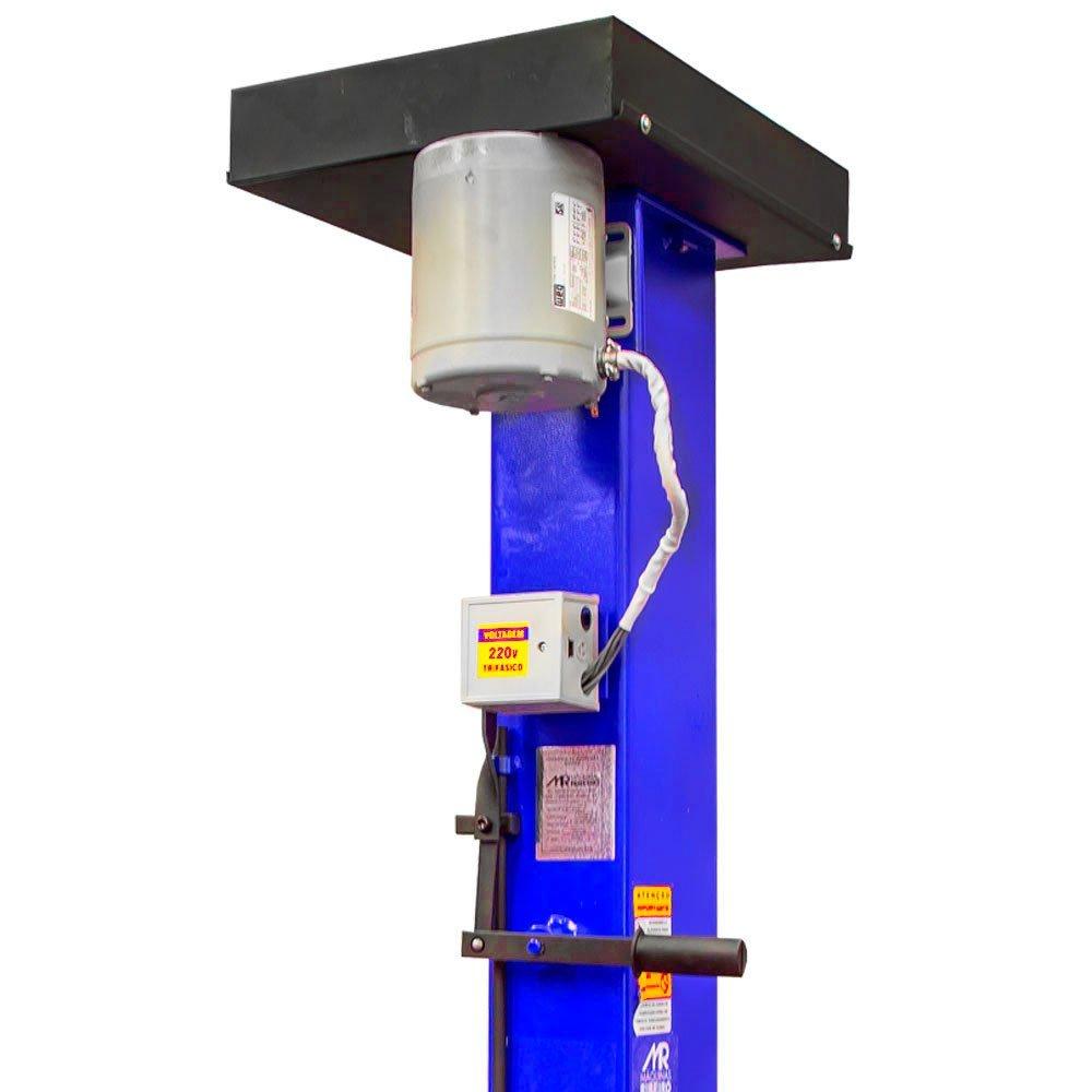 Elevador Automotivo 2500Kg Azul Trifásico 220V - Imagem zoom