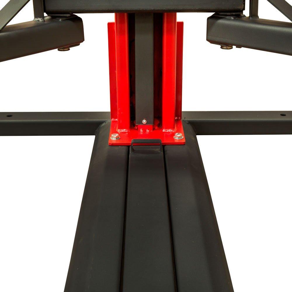 Elevador Automotivo Vermelho de 2500Kg Trifásico  - Imagem zoom