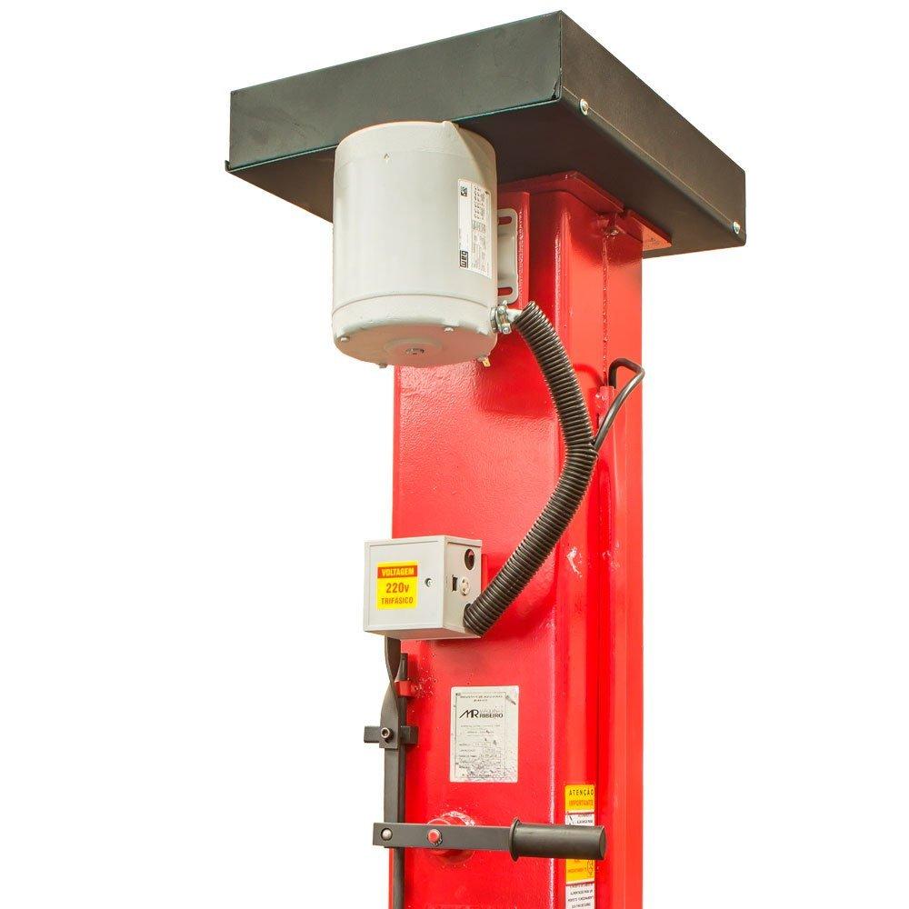 Elevador Automotivo de 4 Toneladas Vermelho Monofásico 220V - Imagem zoom