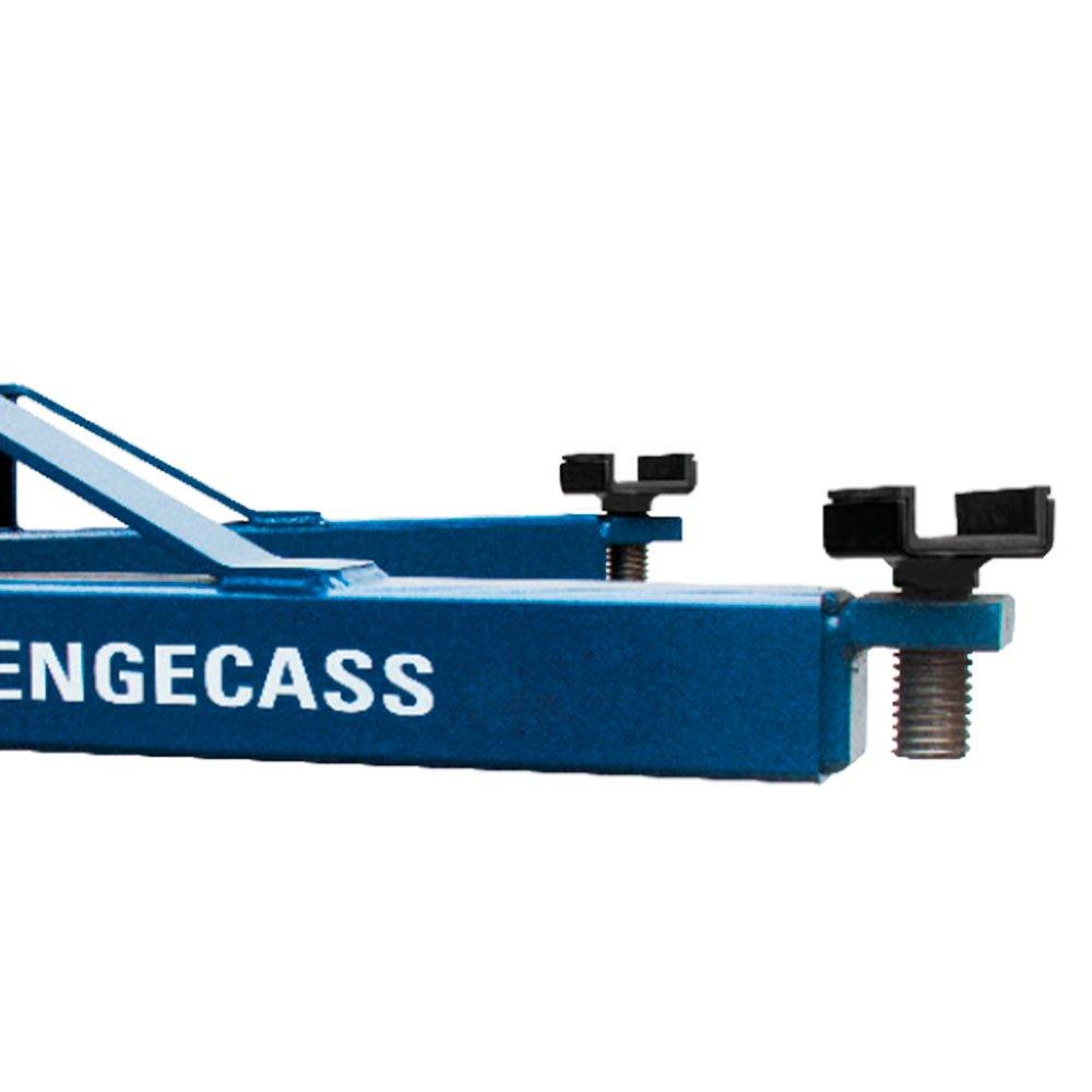 Elevador Automotivo Azul 4,1T 2 x 4CV Trifásico 220V Lubrificação a Graxa EC-4100 - Imagem zoom