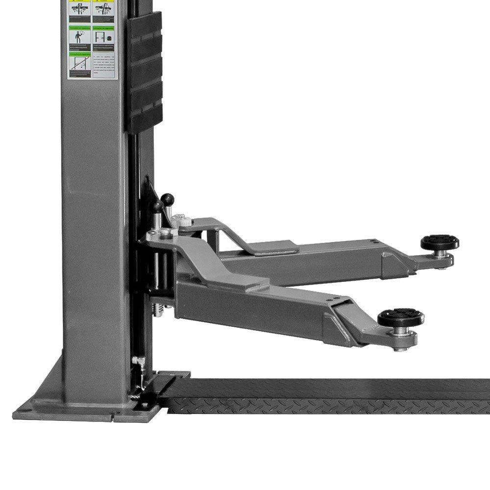 Elevador Hidráulico 4000Kg Single Lock  Mono Cinza - Imagem zoom