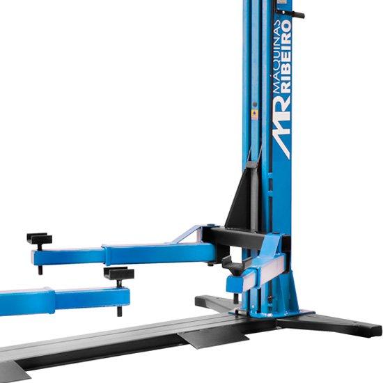 Elevador Automotivo Trifásico Azul para 4000Kg - Imagem zoom