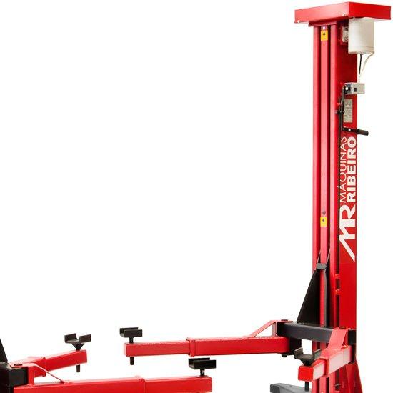 Elevador Automotivo Trifásico Vermelho para 4000Kg - Imagem zoom