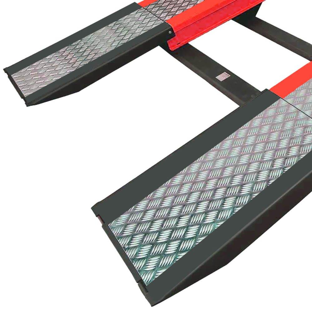 Rampa para Alinhamento de Direção Pneumática Vermelho 4000 Kg - Imagem zoom
